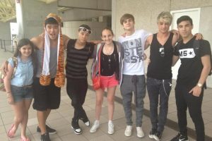 IM5 and fans Concert ALien at Space Coast Spring Fair