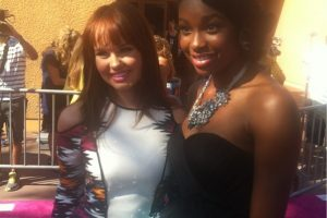 COCO JONES AT TEEN CHOICE AWARDS