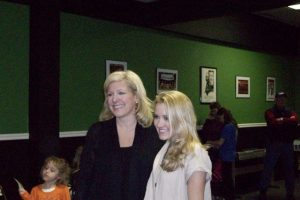Emily Osment meeting fans